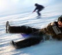 Wintersport: Eislaufflächen Skipisten Rodelbahnen