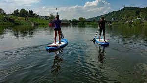 Stand Up Paddling Trier